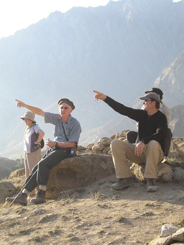 """Let's climb that one!"", near Duikar, Karimabad"