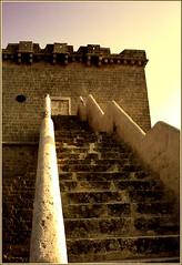 Torre Lapillo, left handrail