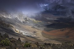 Haleakala Crater from the Vistors Center Overlook