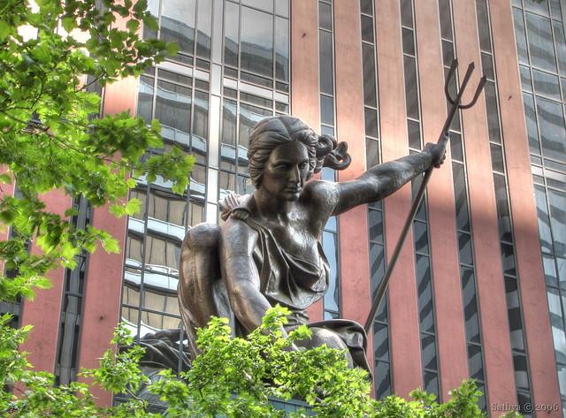 Portlandia flickr photo sharing for Garden statues portland oregon