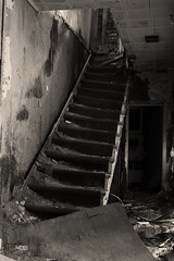 Slanted Stairway