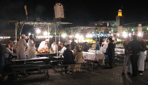 Marrakech, food stall
