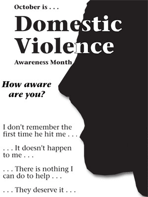 level of awareness on domestic violence Personal awareness of domestic violence: implications for health care  providers retrieved  languages could have been screened out, the response  rate.