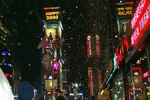 New York In New Years Eve