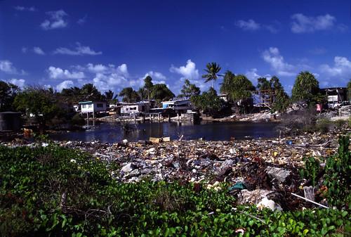 Tuvalu - Funafuti - Dump