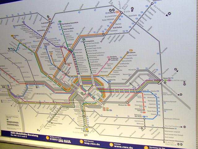 Frankfurt Train Map  Flickr  Photo Sharing