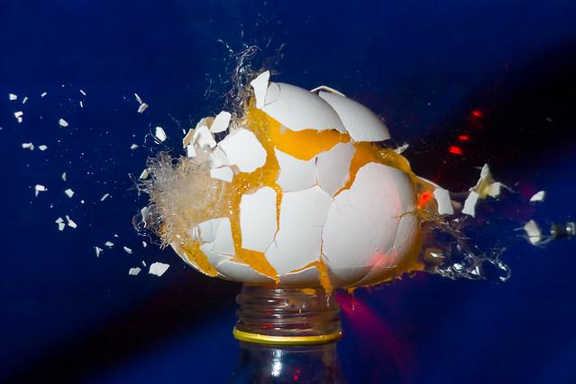 Egg shot