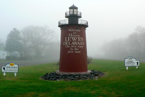 Lewes Lighthouse Sign by mmahaffie