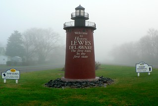 Lewes Lighthouse Sign