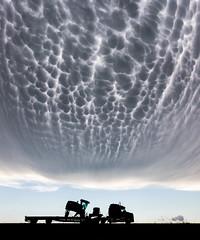 Mammatus over Kansas