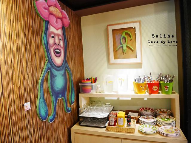 台北東區主題餐廳醜比頭的秘密花園輕食咖啡屁桃 (39)