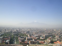 View from Yerevan's Cascade