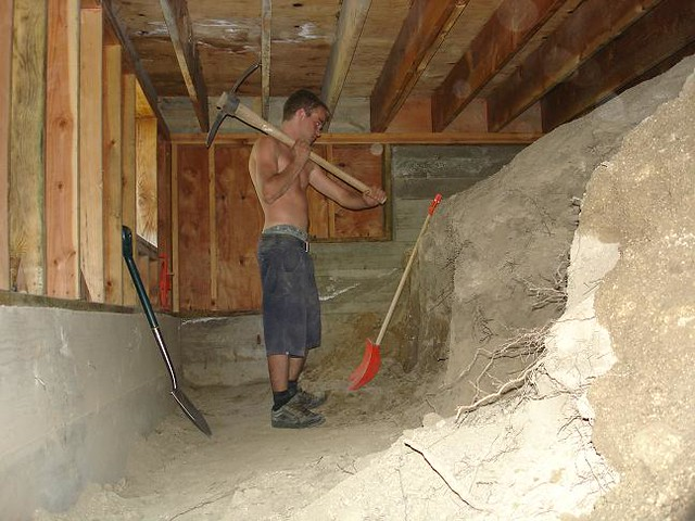 dig out a basement in an existing house step images frompo