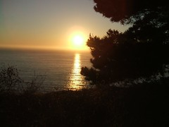 Sunset at Big Sur