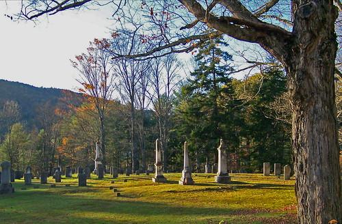 cemetery graveyard vermont newengland newfane