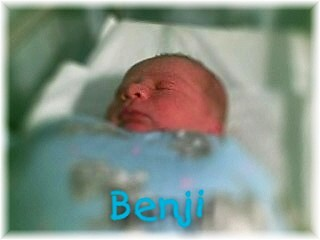 Benji at 4 hours old by beachut (John Sheil)