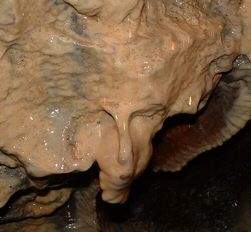 White Scar Caves Face