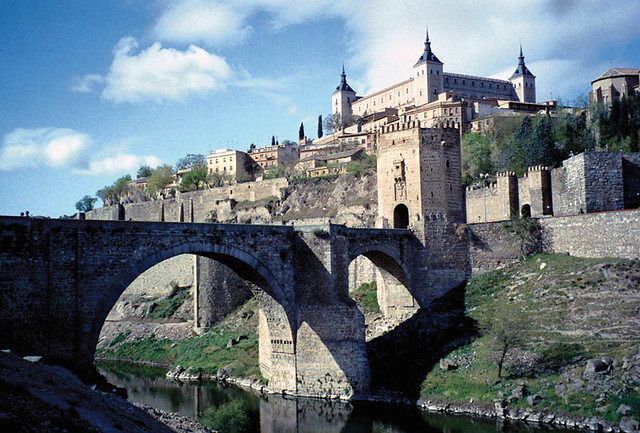 Puente Alcantara Toledo, Spain  Flickr - Photo Sharing!