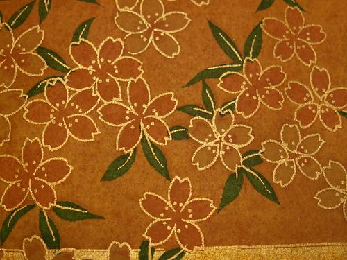 Japanese Paper: Plum Blossoms