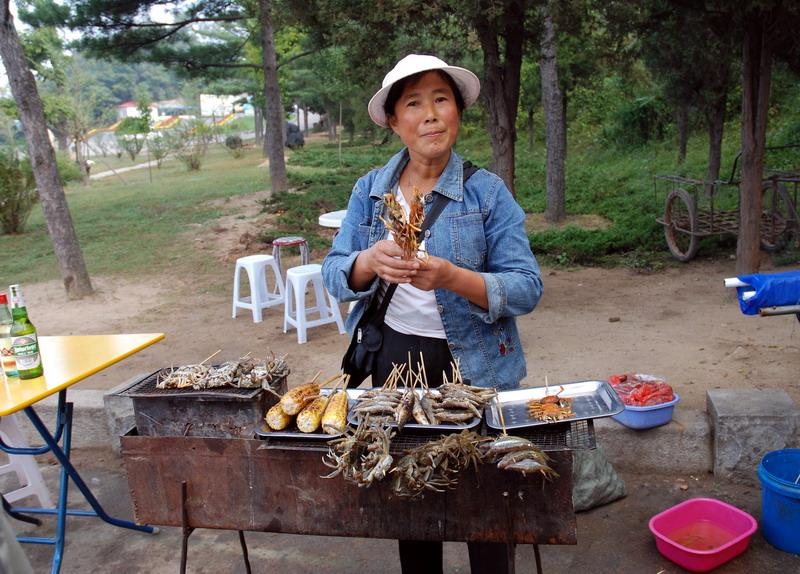 People: Street vendor