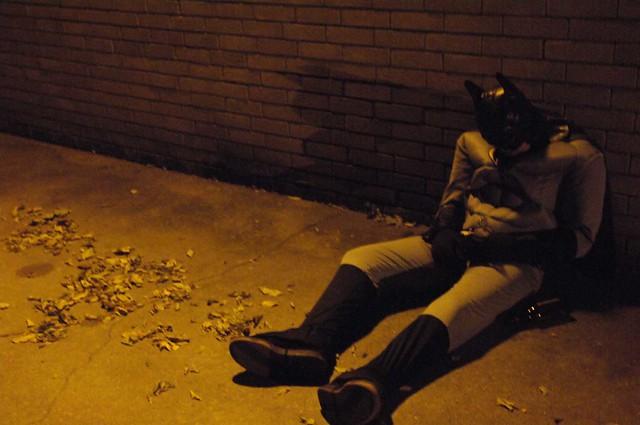 Batman Drunk Passed out