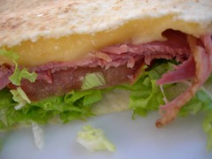 blt, sandwich, meal, lunch, ham and cheese sandwich, muffuletta, meat, food, dish, cuisine,
