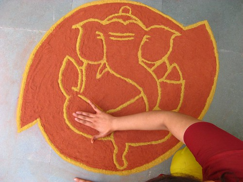 Rangoli via Chirag Gupta on Flickr