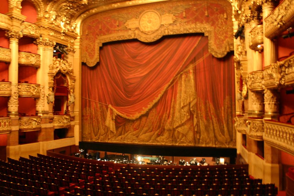 Auditorium Stage in L'Opera-Garnier