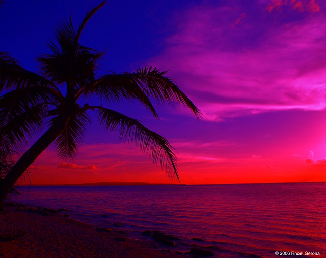 Tropical Island Sunset Flickr Photo Sharing