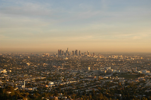 Downtown L. A. from the Griffith Observatory