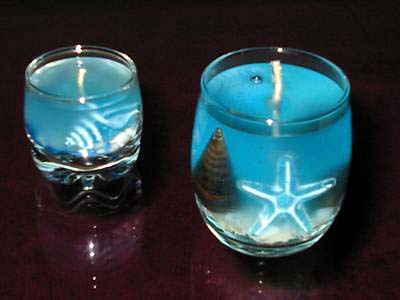 Velas de gel marinas flickr photo sharing - Velas de gel ...