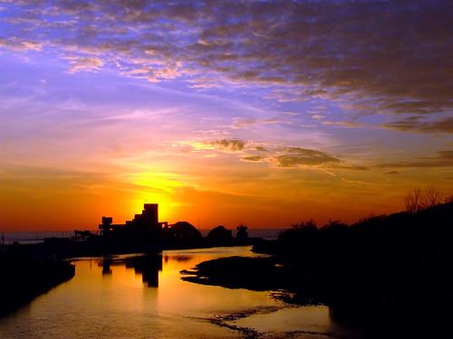 sunset ontario canada goderich