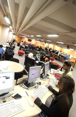 Library Basement, City Campus West, Northumbria University