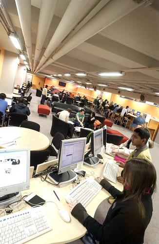 Library Basement, City Campus West, Northumbria University