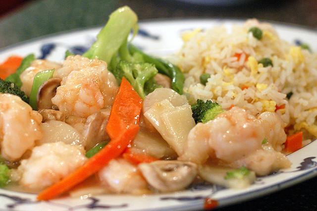Shrimp and Vegetables Recipe - BettyCrocker.com  |Shrimp With Mixed Vegetables