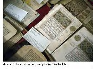 Timbuktu Ancient Islamic Manuscripts Are The Subject of Intensive Study and Interpretation by Pan-African News Wire Photo File