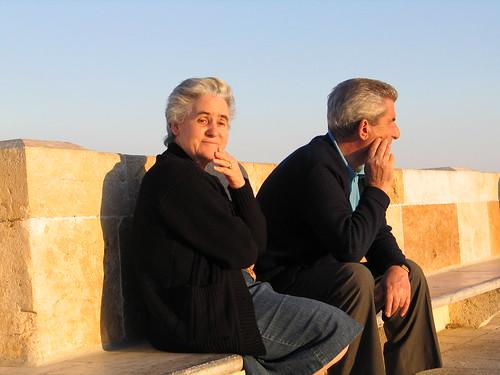 Lovers in Cagliari