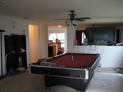 floor, furniture, billiard room, room, property, recreation room, interior design, real estate,