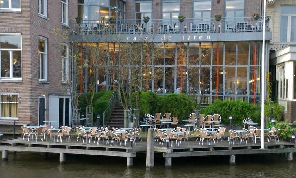 Terrasse du café de Jaren à Amsterdam - Photo d'Ifranz@Flickr