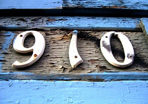 Number 910