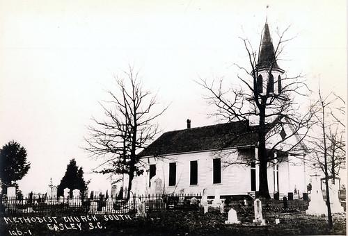 history southcarolina churches 1910s easley pickenscounty
