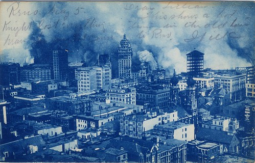 Postcard Showing San Francisco Fire and Earthquake Damage, 1906