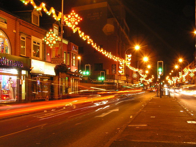 Belgrave Rd Long Exposure on Diwali