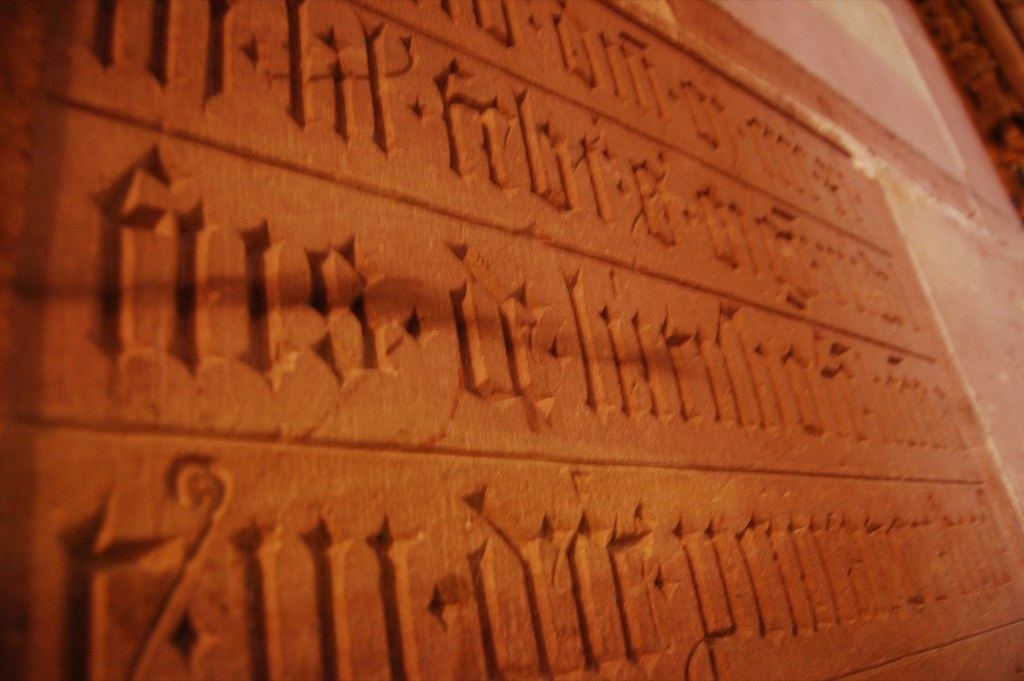 Stone-Carved Lettering in Strasbrourg Cathedral 7.jpg