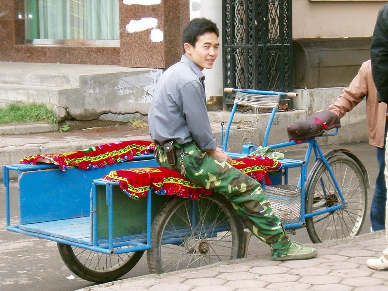 People: Jinrikisha - Want a lift?