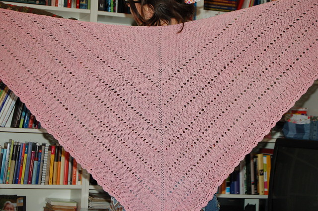 Big n' beautiful shawl