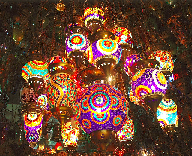 Turkish Traditions These Colourful Lamps Are Integral