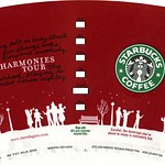 "Starbucks Red Cup 2006 ""Harmonies Tour"""