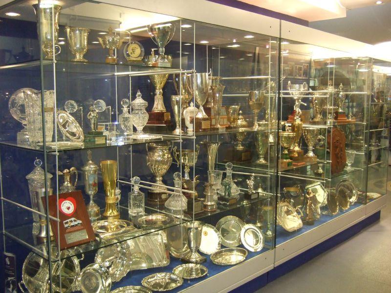 Chelsea Trophy Cabinet