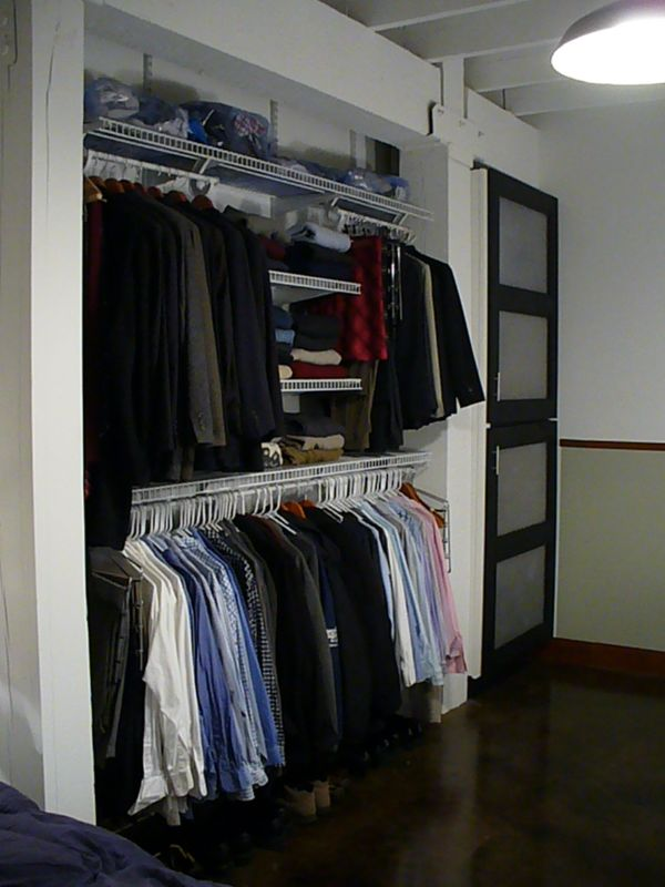 Loft Open Concept Closet Tips Ideas Advice How To Inspiration Pictures  Images